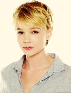 Carey Mulligan - perfect cut and color