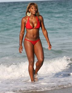 """By Chris GardnerIt's hard to believe that bikini-loving Serena Williams was once insecure about her body. """"I grew up with a lot of sisters -- I was the youngest, and I was really thick. ..."""