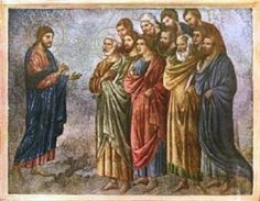 "Jesus Sends Out His Twelve Apostles.    BIBLE SCRIPTURE: Matthew 10:5, ""These twelve Jesus sent forth, and commanded them, saying, Go not into the way of the Gentiles, and into any city of the Samaritans enter ye not:"" - http://access-jesus.com/Matthew/Matthew_10.html"