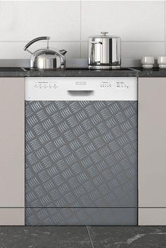 Loft,Stickers Lave-vaisselle - Stickers électroménager #sticker #électroménager #deco #intérieur #papierpeint #surmesure #peinture #graphisme #wallpaper #lavevaisselle
