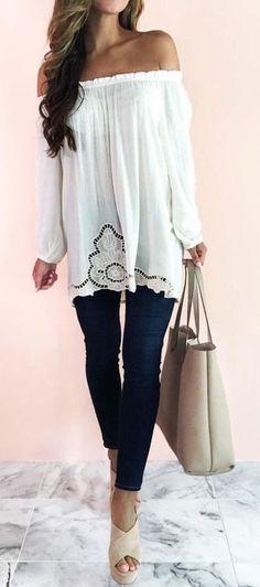 #summer #fashion / long-sleeve crochet