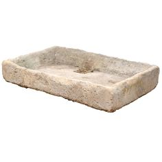 Stone Sink | From a unique collection of antique and modern stone sinks at https://www.1stdibs.com/furniture/building-garden/stone-sinks/