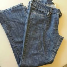 Truck Jeans Truck Jeans from Alloy, only worn a few times. Dark denim, frayed pockets. Very comfortable jeans, just too big for me now.. Jeans Boot Cut