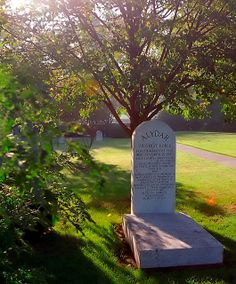 "The grave of Alydar at Calumet Farm cemetary, Lexington Kentucky - photo ""Morning Light on Alydar"" by David Ohmer | Flickr - Photo Sharing!"
