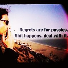 #hankmoody #noregrets #shithappens,deal muthafuckaaa