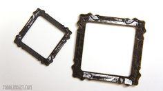 DIY dollhouse frames