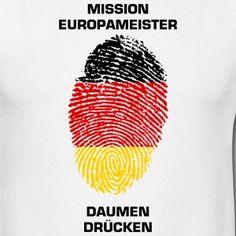 """MISSION EUROPAMEISTER """"DAUMEN DRÜCKEN"""""""