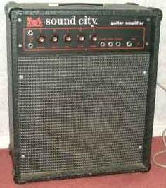 Mini sound city guitar amp.