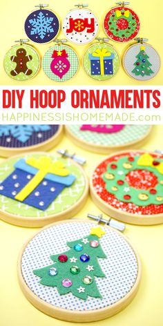 Great ideas for a fun craft night, girls night, or gifts for everyone on your list this year! - Happiness is Homemade howtomakeornaments Easy Christmas Crafts, Diy Christmas Ornaments, How To Make Ornaments, Homemade Christmas, Easter Crafts, Christmas Parties, Christmas Decorations, Xmas, Crafts For Seniors
