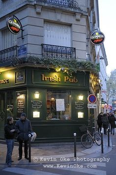 Corcorans Irish Pub, Paris, France
