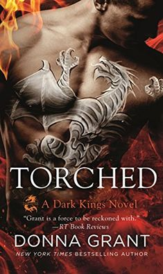 Paranormal romance book. Torched by Donna Grant.