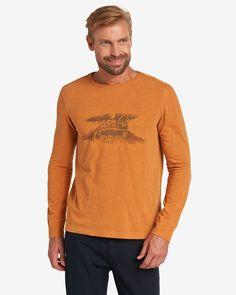 Longsleeve    In modischem Flammgarn gearbeitet bietet das ARQUEONAUTAS Langarmshirt einen legeren Look. Ein runder Ausschnitt, sichtbare Nahtkanten an den Schultern und besonders der Frontprint mit Schriftzug stehen hier im Fokus des Designs. Zudem garantiert die anschmiegsame Baumwolle einen hervorragenden Tragekomfort. Aus 100% Baumwolle....