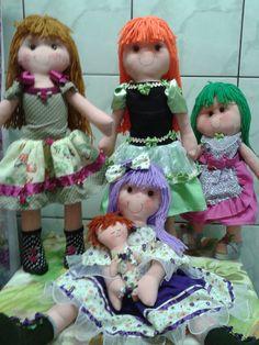 Minhas bonecas de pano com tecnica russa
