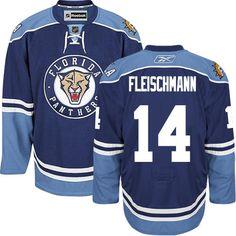 Florida Panthers 14 Tomas Fleischmann Third Jersey - Navy Blue [Florida Panthers Hockey Jerseys 017] - $50.95 : Cheap Hockey Jerseys