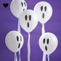 Spook ballonnen met