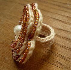 Crochet Rings, Beautiful Crochet, Uk Shop, Beaded Bracelets, Shopping, Etsy, Jewelry, Fashion, Cute Crochet