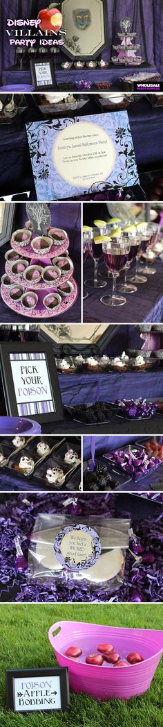 It's not Halloween at Disney without the Disney Villains running amok! Check out this party idea!
