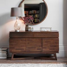 Brown Boho Chic Sideboard