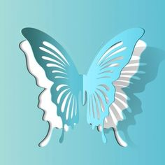 Paper Cutting Patterns Butterfly Butterfly paper c - Quilling Ideas Kirigami, Paper Cutting Patterns, Paper Cutting Templates, Templates Free, Applique Templates, Applique Patterns, Card Templates, Paper Cutting Art, Paper Patterns