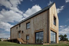 House for Marketka by Mjölk Architekti