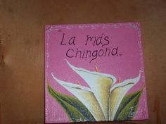 IN Pink La Mas Chingona