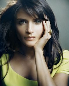 """Helen Christensen in a photo shoot campaign for """"Pilgrim"""" jewellery 2008........"""