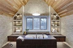 Spa-Like bathroom retreat Spa Bathroom Design, Grey Bathrooms Designs, Spa Like Bathroom, Dream Bathrooms, Contemporary Bathrooms, Bath Design, Beautiful Bathrooms, Bathroom Ideas, Spa Bathrooms