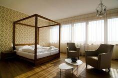 Vinársky hotel - spálňa