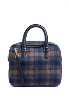 Plaid Show Tote by Marc by Marc Jacobs