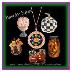 """""""Pumpkin Faces"""" by paulette-matthews on Polyvore"""