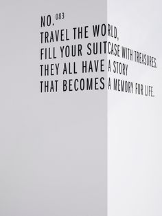 For those who share my  penchant for wanderlust....