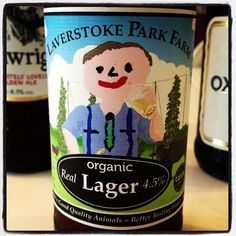 Laverstoke Park Farm Organic Real Lager - 4.5% ABV