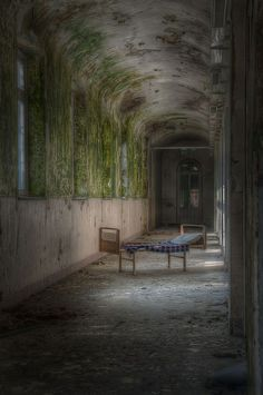 Left Behind Abandoned asylum.