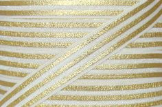 "Ivory/Gold Metallic Stripe 5/8"" Fold Over Elastic"