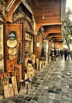 Old city Damascus Syria - Alkabbaaqbih east of the Umayyad Mosque … Umayyad Mosque, Cradle Of Civilization, The Beautiful Country, Luxor Egypt, Future City, Old City, Funny Art, Outdoor Travel, Cool Places To Visit