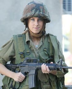 Pictures of Israeli Female Soldiers