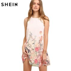 Gender: Women Style: Bohemian Silhouette: Straight Dresses Length: Above Knee, Mini Sleeve Style: Tank Sleeve Length(cm): Sleeveless Brand Name: SheIn Season: Summer Decoration: None Pattern Type: Print Neckline: O-Neck Waistline: Natural Material: Polyester Model Number: dress160426711 Color Style: Natural Color Date: 2016.5.24