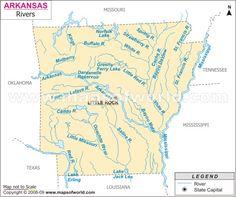 The Arkansas River Stuff I Like And More Pinterest Rivers - Arkansas river map
