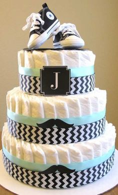 baby shower party diaper cake for boys - Babyshower Party - Bebe Baby Cakes, Baby Shower Cakes, Fiesta Baby Shower, Baby Shower Diapers, Baby Shower Parties, Baby Shower Themes, Baby Boy Shower, Baby Shower Decorations, Baby Shower Gifts