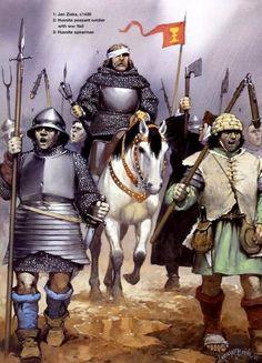 The Hussite(Bohemian) Wars c.1400s
