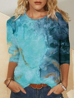 White-Blue,Aqua blue,Navy Blue,Wine Red,Purple,Black,Green,White,Blue Retro Sweatshirts, Casual Tie, Casual T Shirts, Shirts & Tops, Top Gris, Blouses For Women, T Shirts For Women, Shirt Bluse, Maxi Robes