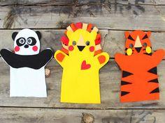 Marionetas hechas en casa ¡y sin coser! - BabyCenter