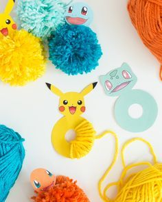 Top 20 Pokemon Party and Craft Ideas Projects For Kids, Diy For Kids, Craft Projects, Crafts For Kids, Craft Ideas, Pokemon Themed Party, Pokemon Birthday, Fun Crafts, Diy And Crafts