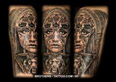Tattoo Studio, Life Tattoos, Tatoos, Tattoo Und Piercing, Church Building, Year 2016, Woman Face, Insta Art, Tattoo Artists