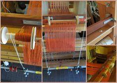 Gangewifre Weaving: Homemade Selvedge Rollers