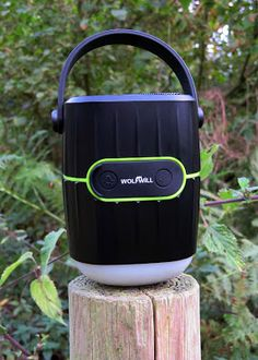 Wolfwill rechargeable LED Camping Light, speaker and 8000mAh powerbank Review