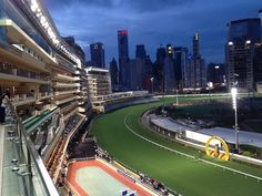 Happy Valley Race is a racecourse both for horse racing and a tourist attraction in Hong Kong. It is located in Happy Valley on Hong Kong Island surrounded by Wong Nai Chung Road and Morrison Hill Road