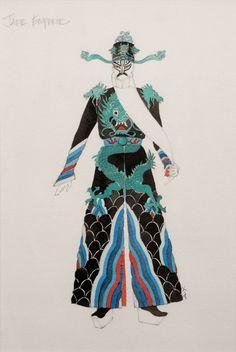 Silver River (Jade Emperor). Spoleto Festival. Costume design by Anita Yavich. 2000