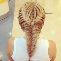 beautiful braided hairstyle