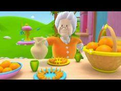 Alex - Las Naranjas - Dibujos educativos para aprender sobre los vegetales y el huerto - YouTube